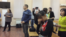 Орал тұрғыны Зарина Досмұхамбетова өзіне сот үкімі оқылған сәтте жүзін жасырып тұр. Орал, 23 қараша 2017 жыл.