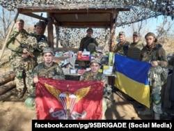 Десантники 95-ї ОДШБр. Фото зі сторінки бригади у Facebook