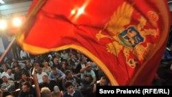 Флаг Черногории. Иллюстрационное фото