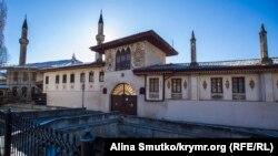 Ханский дворец в Бахчисарае, архивное фото