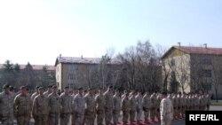 Свеченост по повод испраќање на војници во Авганистан