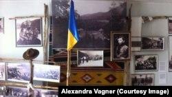 Экспозиция в музее-усадьбе семьи Степана Бандеры в городе Стрый на Западной Украине