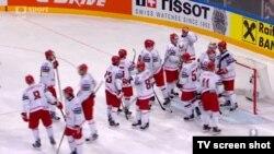 Белорусь пен Канада арасындағы ойын. Прага. 14 мамыр 2015 жыл.