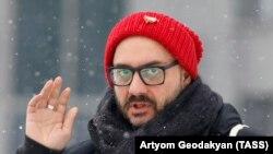 Кирилл Серебренников отправляется на судебные слушания, 21 января 2019 года