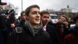 Егор Жуков покидает Кунцевский суд Москвы после приговора