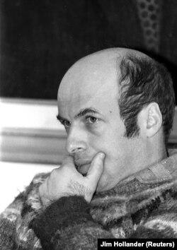 Soviet dissident Natan Sharansky in Jerusalem on December 3, 1986