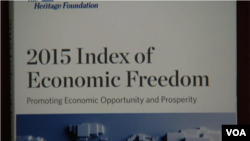 Economic Freedom Index 2015
