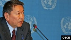 Bolat Nurgaliev, the OSCE's special envoy for protracted conflicts
