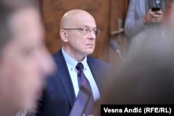 Serbia's Culture Minister Vladan Vukosavljevic