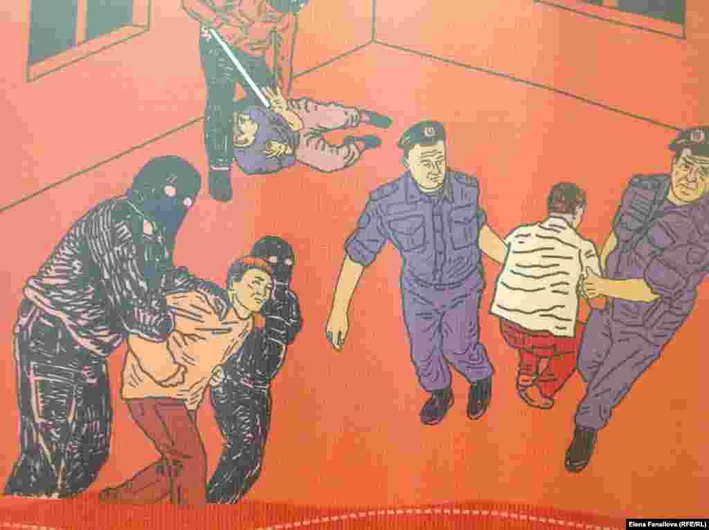 Задержание Абдул-Езита Асхабова, инвалида, Шали. Его увезли вооруженные люди в масках. Он исчез.