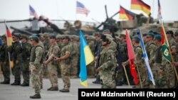 Немецкие военные в составе участников многонациональных учений НАТО в Грузии «Достойный партнер 2018»