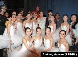 Артисты театра оперы и балета имени Абая. Алматы, май 2012 года.