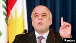 Iraqi Prime Minister Haidar al-Abadi (file photo)