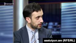 «Իրազեկ քաղաքացիների միավորում» ՀԿ համակարգող Դանիել Իոաննիսյան, արխիվ