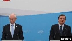 Rompuy dhe Barroso - foto arkivi