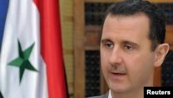 Сирискиот претседател Башар ал-Асад.
