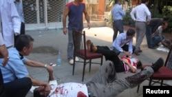 На месте взрыва в Анкаре 20 сентября