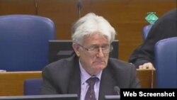 Radovan Karadžić na suđenju u Hagu, 5. ožujka 2012.