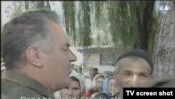 Pptuženi u potočarima, snimka prikazana u sudnici