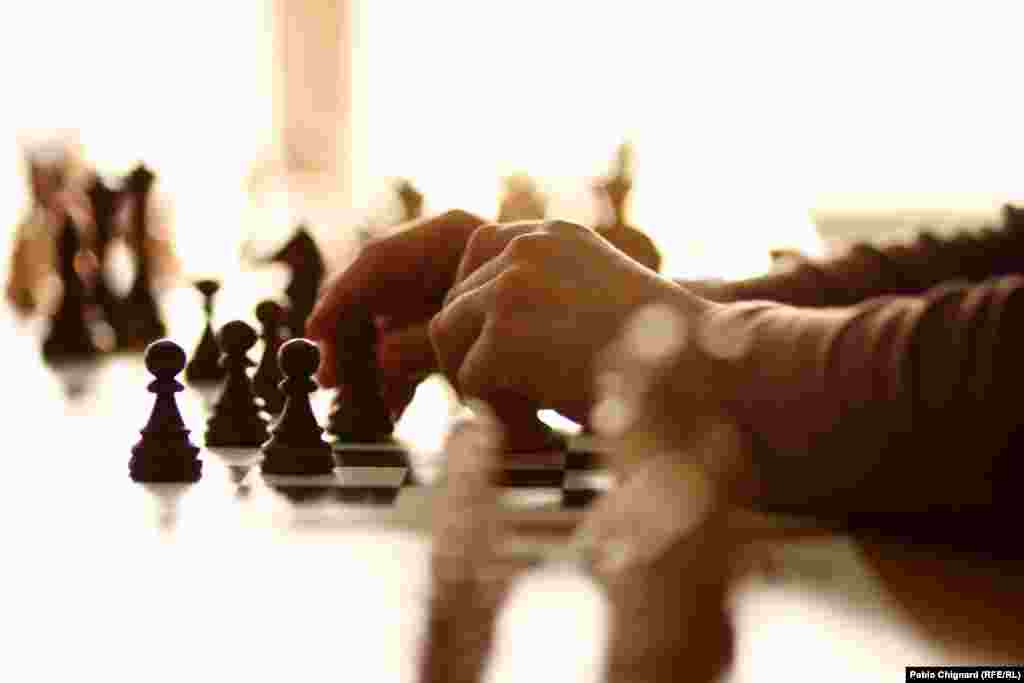 The Chess Academy at Chisinau, Moldova