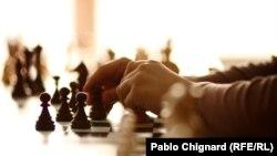 """Ленин туган көне хөрмәтенә оештырылган шахмат турниры """"Ильич истәлеге"""" дип аталды"""