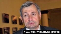 """Председатель фракции """"Сильная Грузия"""" в парламенте страны Гия Тортладзе"""