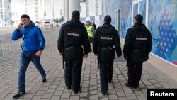 Сочидегі полиция. 16 қаңтар 2014 жыл.