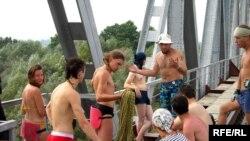 Rope-jumping-ის მოყვარულები ბელორუსიაში