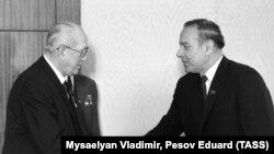 Heydər Əliyev və Yuri Andropov