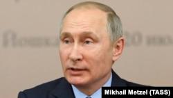 Рускиот претседател Владимир Путин, 20 јули, 2017.