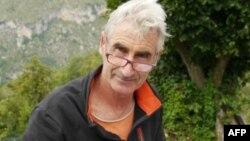 Французский турист Эрве Гурдель, похищенный в Алжире 21 сентября.