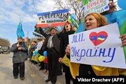 Крым, 14 марта 2014 года
