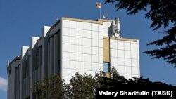 ე.წ. სამხრეთ ოსეთის დე ფაქტო პრეზიდენტის ადმინისტრაციის შენობა