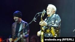 Один із нечисленних концертів Макаревича у вересні відбувся в столиці Білорусі Мінську
