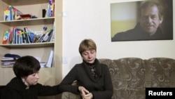 Людміла Гразнова і Любоў Кавалёва