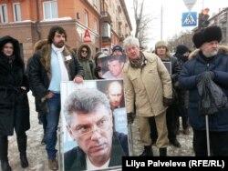 Марш памяти Бориса Немцова в Новосибирске