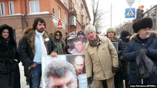 Nemtsov March marşı, Novosibirsk, 26 fevral 2017