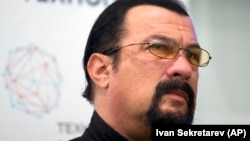 U.S. actor Steven Seagal (file photo)
