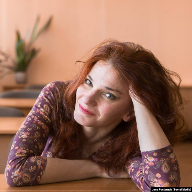 Пісьменьніца Яўгенія Пастарнак, фота зь яе старонкі ў Фэйсбуку.