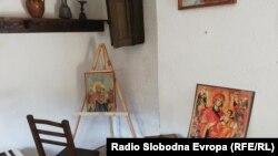 Спомен соба во чест на најпознатиот македонски иконописец од 19 век Дичо Зограф.