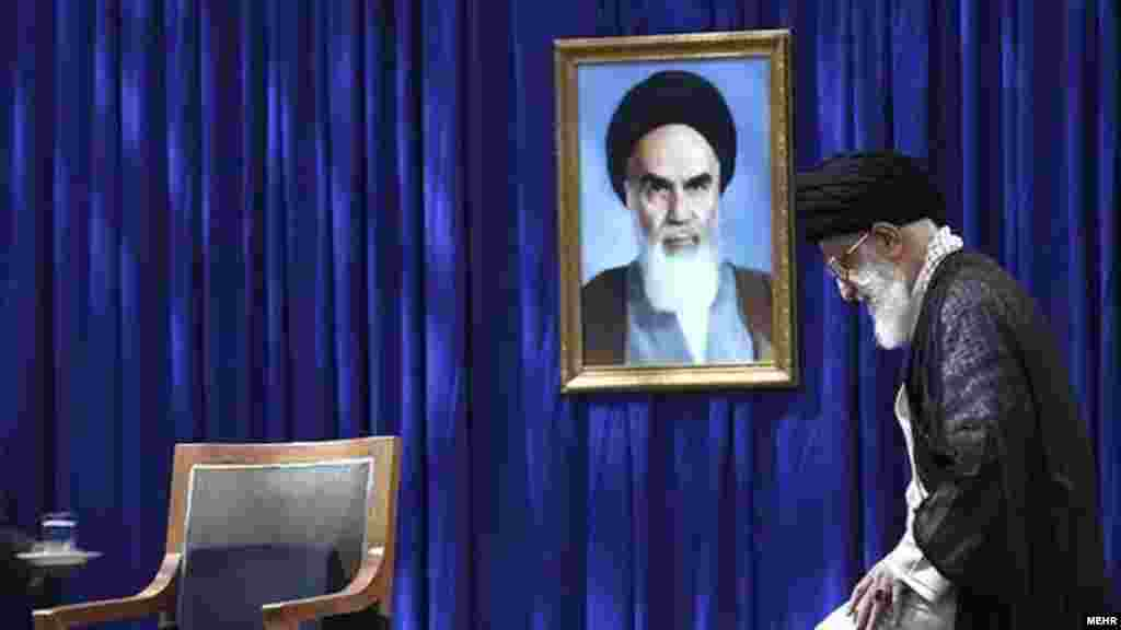 "In 1998, after Iran's reformist President Mohammad Khatami sought to restore diplomatic relations with the U.K. by saying it would ""neither support nor hinder assassination operations on Rushdie,"" Supreme Leader Ayatollah Ali Khamenei reiterated the validity of the death sentence pronounced by his predecessor Khomeini."