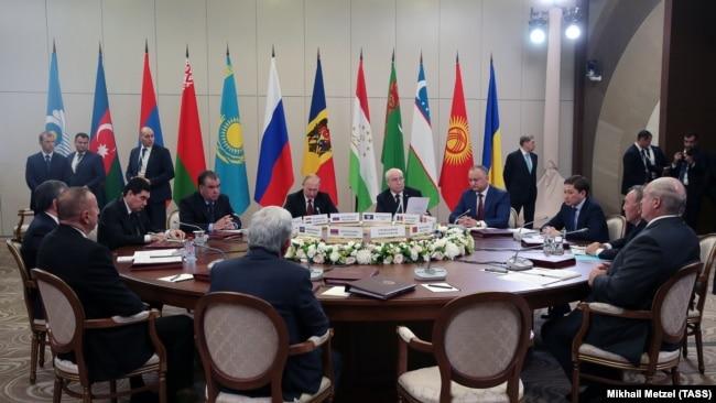 Заседание Совета глав государств СНГ, Сочи, 11 октября 2017 года