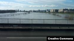 Rijeka Sava u zagrebu