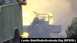 Donetsk yaxınlığında döyüşlər