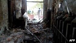 Пошкоджена американським авіаударом будівля лікарні в Кундузі, Афганістан, 13 жовтня 2015 року