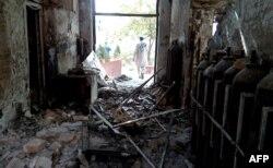 Лікарня неурядової організації «Лікарі без кордонів» після обстрілу в жовтні 2015 року