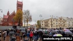 Protest u beloruskoj prestonici