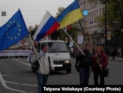Демонстрация в Петербурге