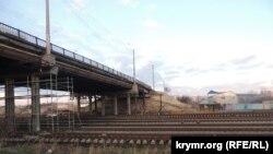 Керчь, Горьковский мост, январь 2017 года