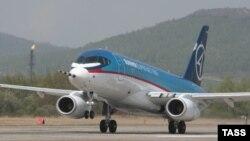 Sukhoi Superjet-100 очкычы